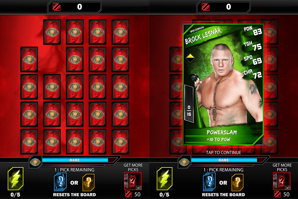 cheats, tipps und tricks wwe-supercards
