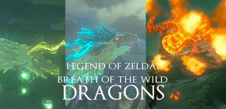 The Legend of Zelda - Breath of the Wild Eldra, Naydra und Farodra Drache